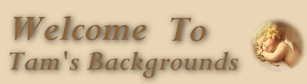 Welcome to Backgrounds by Tam